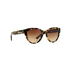 DKNY - Brown DY4135 cat eye sunglasses
