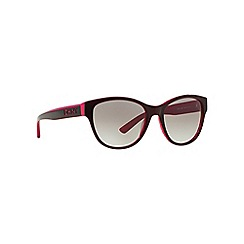 DKNY - Red DY4133 cat eye sunglasses