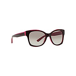 DKNY - Red DY4132 square sunglasses