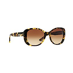 DKNY - Brown rectangle DY4136 sunglasses