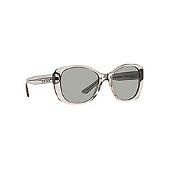DKNY - Grey DY4136 rectangle sunglasses