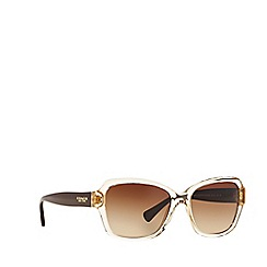 Coach - Light brown butterfly HC8160 sunglasses