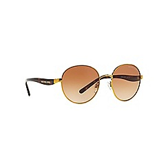 Michael Kors - Gold MK1007 round sunglasses
