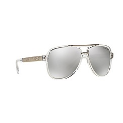 Michael Kors - White aviator MK6025 sunglasses