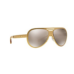 Michael Kors - Gold aviator MK5011 sunglasses