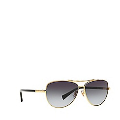 Coach - Gold aviator HC7058 sunglasses