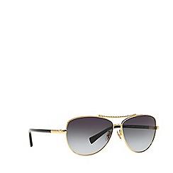 Coach - Gold  HC7058 aviator sunglasses