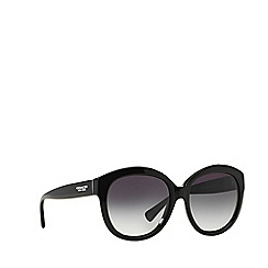 Coach - Black round HC8159 sunglasses