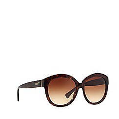 Coach - Brown HC8159 round sunglasses