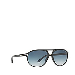 Tom Ford - Black TR000708 rectangle sunglasses