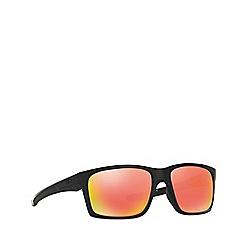 Oakley - Matte black 'Mainlink' rectangle OO9264 sunglasses
