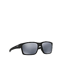 Oakley - Matte black 'Mainlink' OO9264 rectangle sunglasses