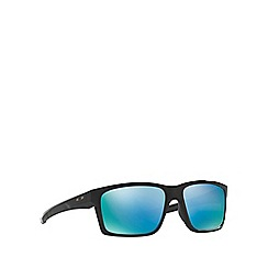 Oakley - Shiny black 'Mainlink' OO9264 rectangle sunglasses