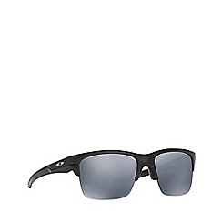 Oakley - Matte black 'Thinlink' rectangle OO9316 sunglasses