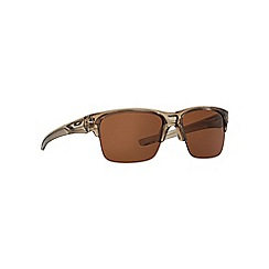 Oakley - Brown 'Thinlink' OO9316 rectangle sunglasses