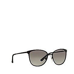 Vogue - Matte black 'Vogue' pillow frame sunglasses