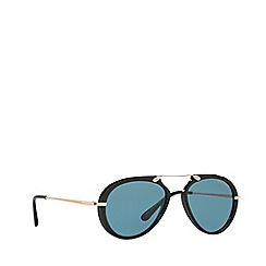 Tom Ford - Black 'Cliff' FT0473 pilot sunglasses