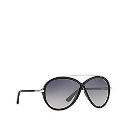 Tom Ford - Black 'Brenda' FT0454 rectangle sunglasses