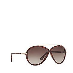 Tom Ford - Brown 'Brenda' FT0454 rectangle sunglasses