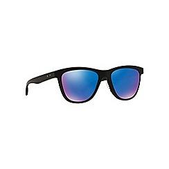 Oakley - Online exclusive matte black 'Moonlighter' OO9320 round sunglasses