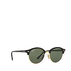 Ray-Ban - Black 'Clubround 'round RB4246 sunglasses