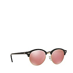 Ray-Ban - Black round RB4246 sunglasses