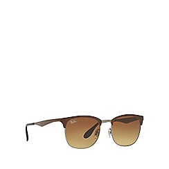 Ray-Ban - Brown RB3538 square sunglasses