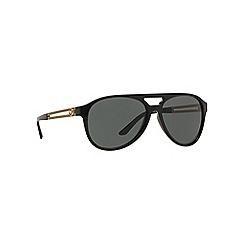 Versace - Black VE4312 pilot sunglasses