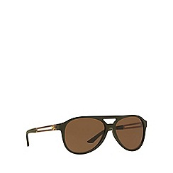 Versace - Green VE4312 pilot sunglasses