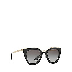 Prada - Black cat eye PR 53SS sunglasses