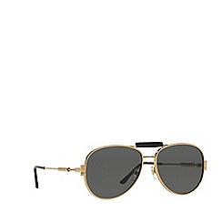 Versace - Gold VE2167Q pilot sunglasses