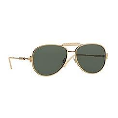 Versace - Gold pilot VE2167Q sunglasses
