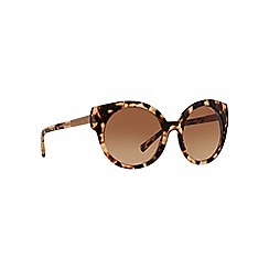Michael Kors - Brown MK2019 round sunglasses