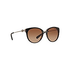 Michael Kors - Brown MK6040 round sunglasses