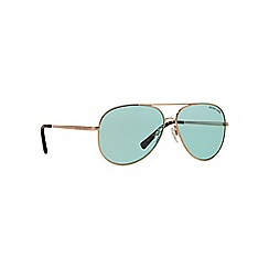 Michael Kors - Gold MK5016 pilot sunglasses