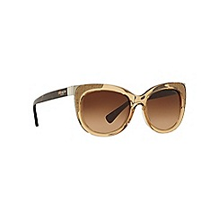 Coach - Light brown HC8171 square sunglasses