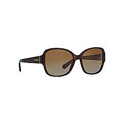 Coach - Tortoiseshell HC8166 butterfly sunglasses