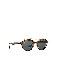 Ray-Ban - Brown RB4257 round sunglasses