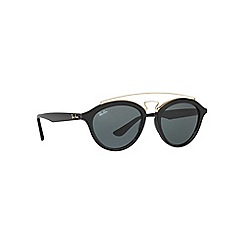 Ray-Ban - Black RB4257 round sunglasses