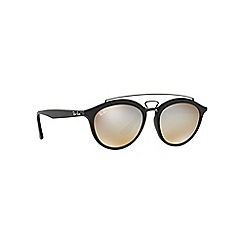 Ray-Ban - Matte black phantos grey lense sunglasses