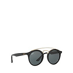 Ray-Ban - Black RB4256 round sunglasses