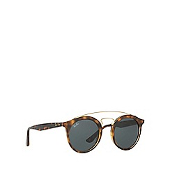 Ray-Ban - Brown RB4256 round sunglasses