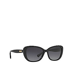 Ralph - Black rectangle frame sunglasses
