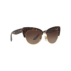 Dolce & Gabbana - Brown cat eye DG4277 sunglasses
