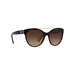 Dolce & Gabbana - Brown round DG4280 sunglasses