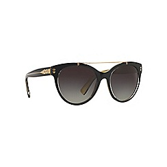 Dolce & Gabbana - Black DG4280 round sunglasses