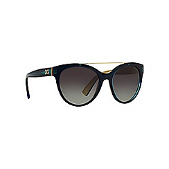 Dolce & Gabbana - Grey DG4280 round sunglasses