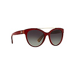 Dolce & Gabbana - Red round DG4280 sunglasses