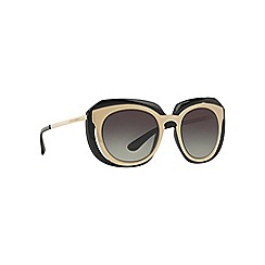 Dolce & Gabbana - Gold irregular DG6104 sunglasses