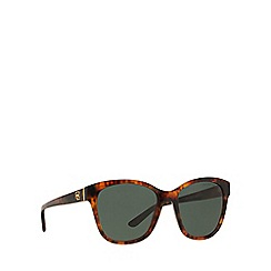 Ralph Lauren - Brown RL8143 square sunglasses